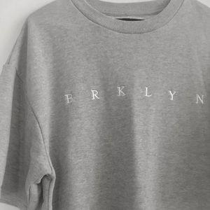 Sweaters - Grey Brooklyn sweatshirt